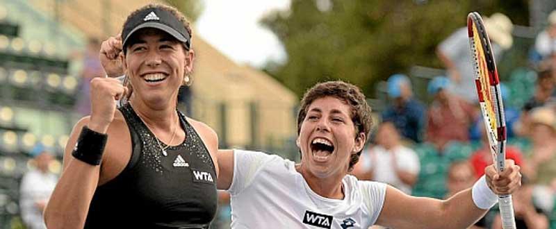 Garbiñe Muguruza y Carla Suárez, en el Top 10 mundial