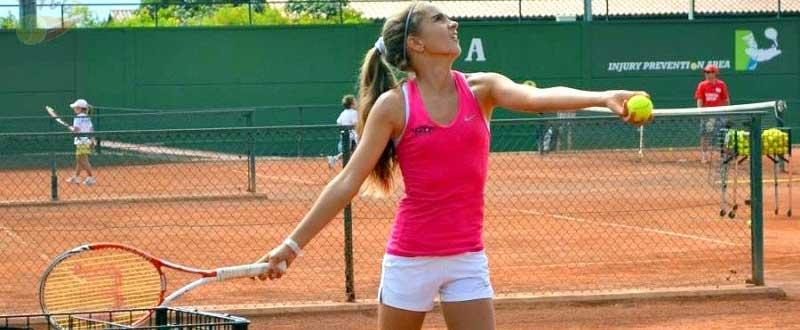 Carlota Molina representará al tenis femenino español en FOJE. Fuente: AD