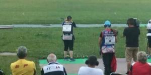 Beatriz Martínez no ha podido luchar finalmente por las medallas. Fuente: Rfedeto.