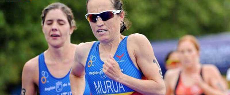 Ainhoa Murua, pese a sus 37 años, es la referencia del triatlón femenino.