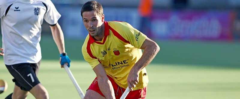 Pau Quemada ha sido el autor de 2 de los 3 goles de España. Fuente: AD.