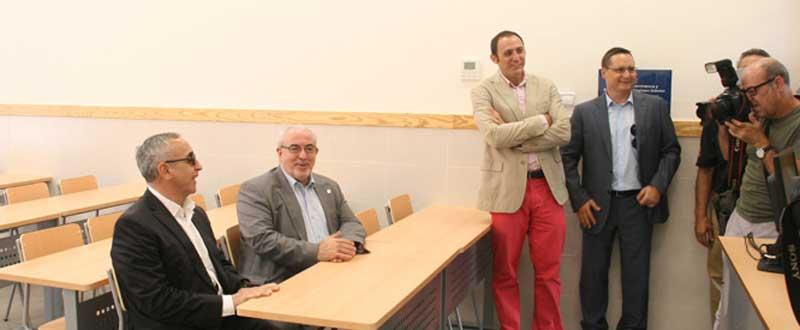 El Presidente del COE, Alejandro Blanco, durante el acto de presentación en Cartagena.