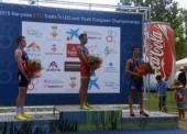 David Castro, campeón de Europa de Triatlón sub23 en Banyoles