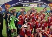 La selección femenina de fútbol sub 17, campeona de Europa