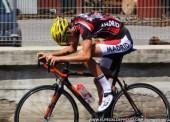Hugo Sampedro, a rueda desde Madrid a Tiflis