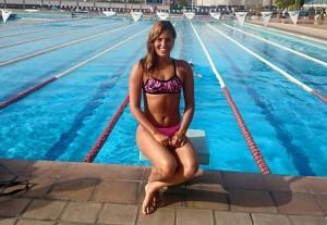 Michelle Alonso, una de las representantes de España en el Mundial de Glasgow. Fuente: AD