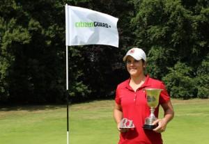 Natilia Escuriola ha conseguido la victoria en el Citizenguard Letas Trophy.