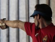 Jorge Llames, pistola de bronce
