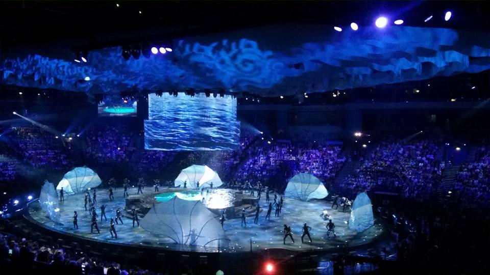 Inauguración en Kazán. Fuente: FINA