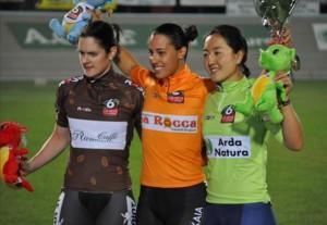 Tania Calvo, oro en velocidad. Fuente: AD