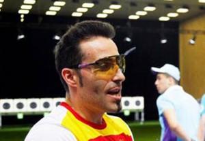 Jorge Llames durante los Juegos Europeos de Baku. Fuente: AD