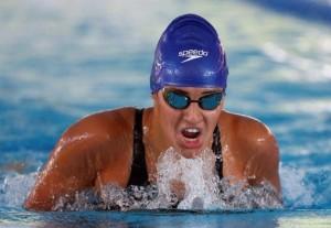 Michelle Alonso durante la serie de los 200 metros estilos en el Mundial de Montreal, Canadá. Fuente: paralimpicos.es