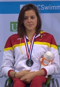 Julia Castelló. Fuente: Paralímpicos