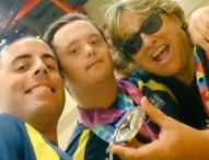 Ángel Roldán, 1ª medalla española en los Special Olympics