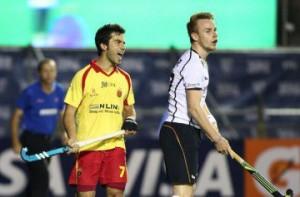 España jugará contra Belgica su 2º partido en Hamburgo. Fuente: Rfeh.