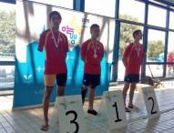 España finaliza con 40 medallas en natación los Juegos Europeos