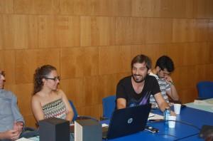 Laura Pérez, Pablo Cervantes y José Luis Rojas. Fuente: DC/Avance Deportivo