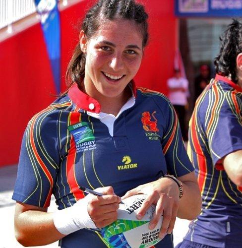Marina Bravo. Fuente: rugbymajadahonda.com