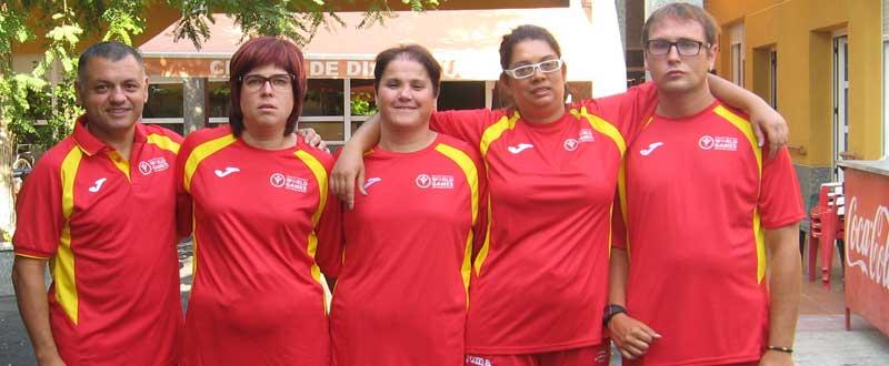 Los 4 medallistas son de la localidad alicantina de Aspe.   Fuente: aspenoticias.es