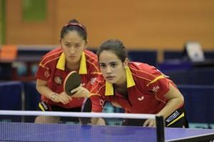 Nora Escartín y Sofía-Xuan Zhang en Eslovaquia. Fuente: Rfetm