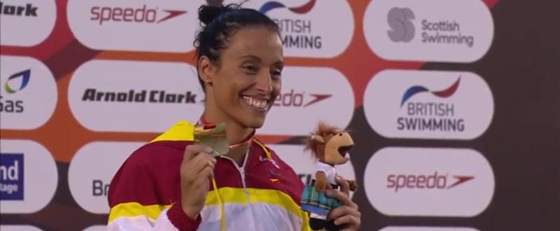 Teresa Perales se ha proclamado campeona del Mundo en Glasgow.