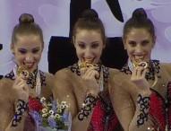 El equipo nacional de gimnasia rítmica, medalla de bronce al mérito deportivo