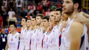 La selección de Serbia, actual campeona de Europa.