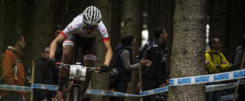 Sergio Mantecón. 12º y mejor español en la carrera élite masculina. Fuente: Sergio Mantecón.