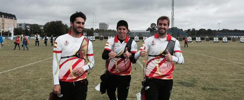 Juan Ignacio Rodríguez, Miguel Alvariño y Antonio Fernández. Fuente: AD