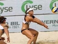 Lili-Elsa caen en octavos del Mundial de voley playa