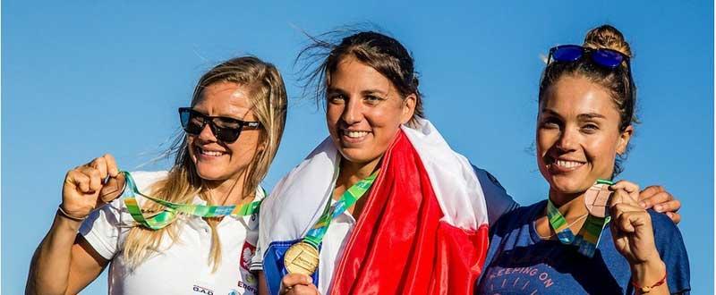 Blanca Manchón (derecha). Fuente: AD