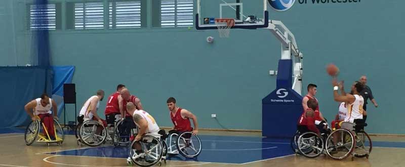 Selección española masculina de baloncesto en silla. Fuente: Feddf