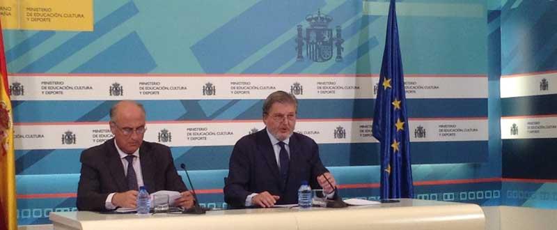 Fernando Benzo e Íñigo Méndez de Vigo. Fuente JAC/Avance Deportivo