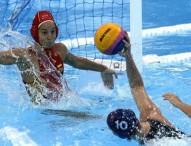 La selección femenina de waterpolo cae derrotada en cuartos