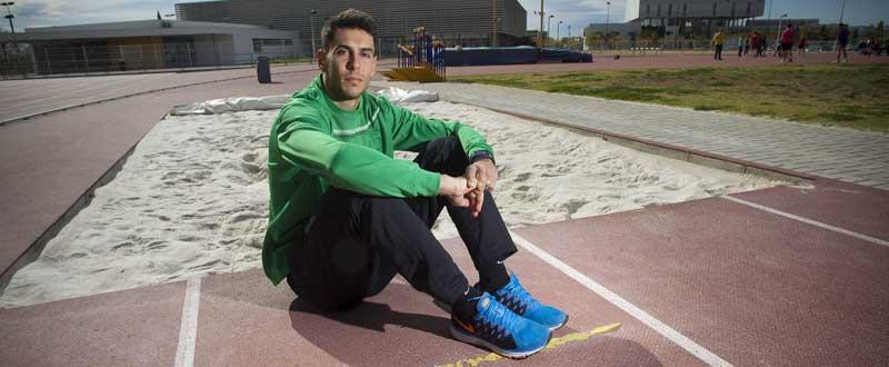Pablo Torrijos es uno de los atletas españoles con más proyección. Fuente: Ángel Sánchez.