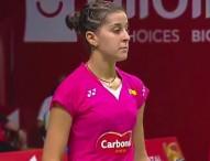 Carolina Marín ya está en octavos del mundial