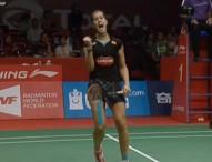 Carolina Marín, a la final en Yakarta con remontada de épica