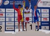 Oro para el tándem Avila-Font en el mundial de ciclismo adaptado