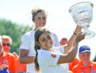 Ana Peláez, campeona del Annika Invitational de golf