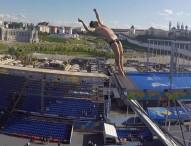 Carlos Gimeno se queda a las puertas de la final en salto 27 metros