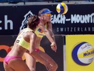 Las parejas españolas sueñan con la gloria en el Grand Slam de Long Beach