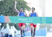 Oro para José Luis García Serrano y su guía Francisco Nieva en Río