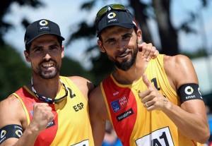 Pablo Herrera y Adrián Gavira. Fuente: Rfeh