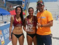 Martín-Bisbe, campeonas de España sub19 de voley playa