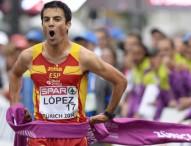"""Miguel Ángel López: """"El objetivo ahora es luchar por las medallas en Pekín"""""""