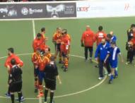 España gana a Grecia 2-0 con goles de El Hadaoui y Acosta
