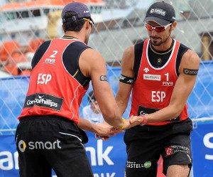 Pablo Herrera y Adrián Gavira. Fuente: AD.