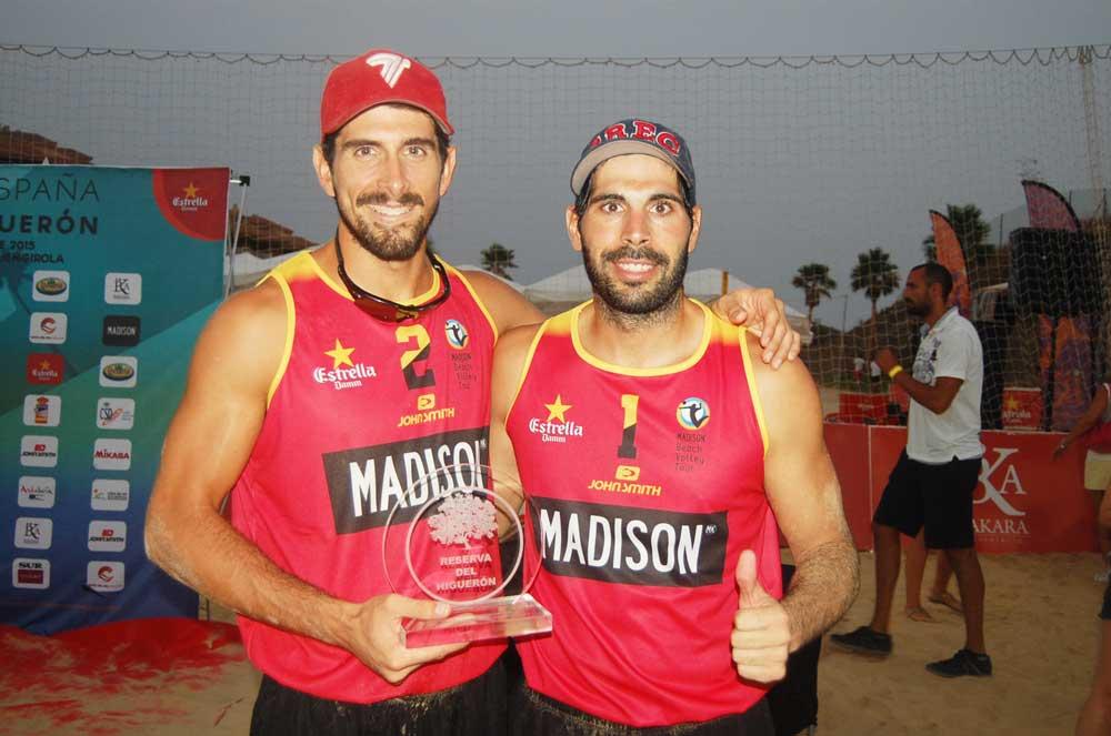 Christian García y Fran Marco. Fuente: FM/Avance Deportivo