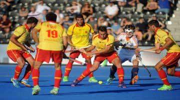 Selección masculina española de hockey hierba. Fuente: Rfeh