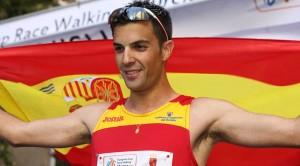 Miguel Ángel López, marcha. Fuente: UCAM Deportes